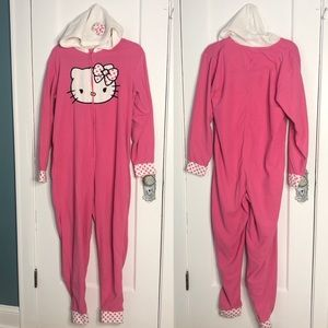 Hello Kitty Womens Union Suit Size Large Hoodie